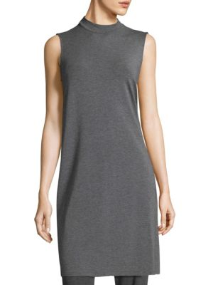 Mockneck Long Tunic by Eileen Fisher