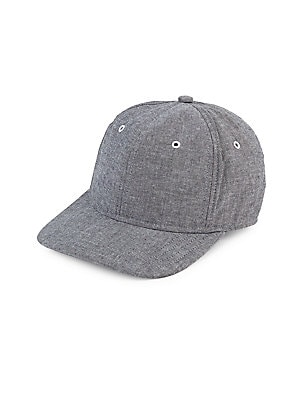 f05f5db6377 Gents - Flat-Brim Check-Print Baseball Cap - saks.com