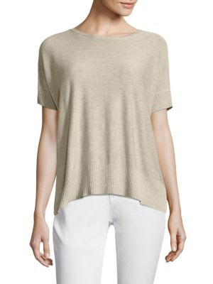 Roundneck Top by Eileen Fisher