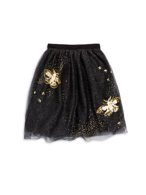Toddlers Little Girls  Girls Butterfly Skirt
