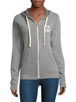 Montauk Or Nowhere Zip Hoodie by Knowlita