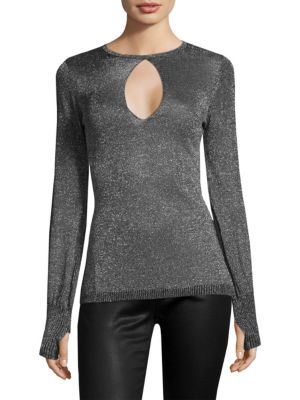 Keyhole Sweater by ROI