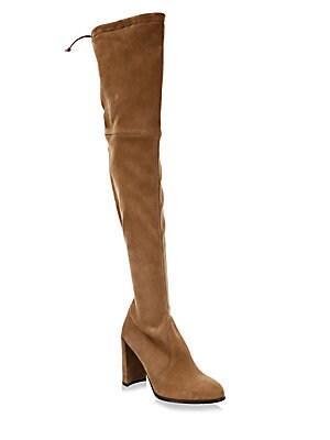 825510ca166 Stuart Weitzman - Tie Model Leather Over-the-Knee Boots - saks.com