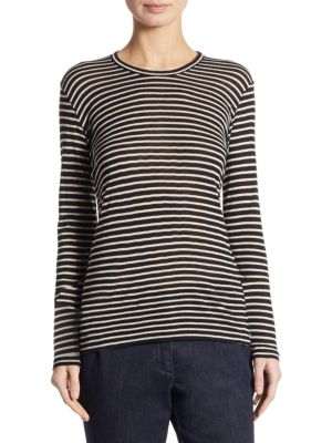 Striped Long Sleeve Shirt by Weekend Max Mara