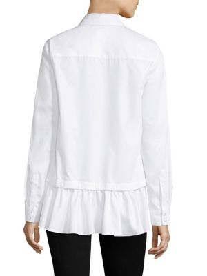 Buy Prose & Poetry Claude Slim-Fit Detachable Ruffle Shirt online with Australia wide shipping