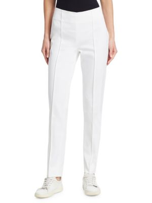 BARBARA LOHMANN Deva Wool Trousers in White