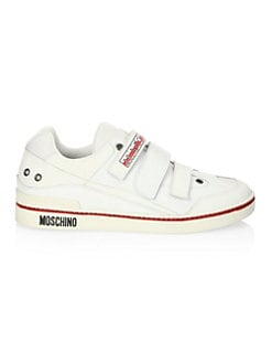 Moschino - Grip-Tape Low Top Sneakers