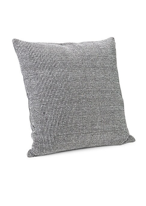 """Image of Woven in 100% cotton, the effortlessly minimal Calvin Klein Structure Pillow adds a touch of modern luxury to your bed. Available in 2 colorways.501 thread count.22""""W x 22""""H.Cotton. Machine wash. Imported."""