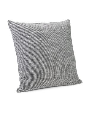 "Image of Woven in 100% cotton, the effortlessly minimal Calvin Klein Structure Pillow adds a touch of modern luxury to your bed. Available in 2 colorways.501 thread count.22""W x 22""H.Cotton. Machine wash. Imported."