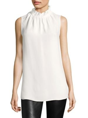 Percy Silk Blouse by Lafayette 148 New York