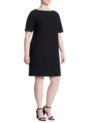 Lace Cyra Wool Sheath Dress