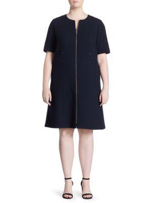 Sonya Wool Knee-Length Dress