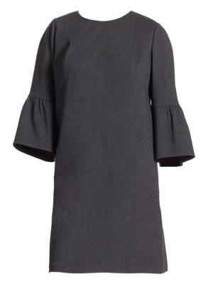 Lafayette 148 New York Plus Size Plus Marissa Bell Sleeve Shift Dress