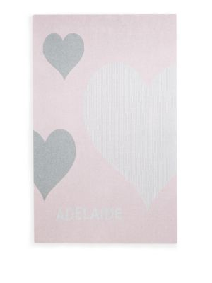 Personalized Graphic Cotton Blanket