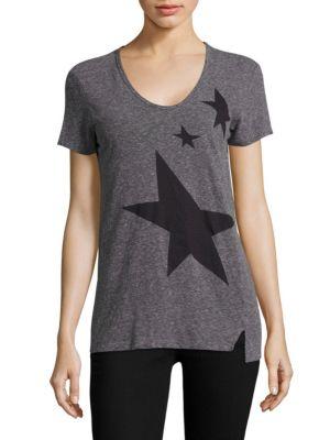 Stars Print Tee by SUNDRY
