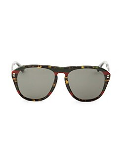a81d8da5058 Gucci. 49MM Pilot Sunglasses
