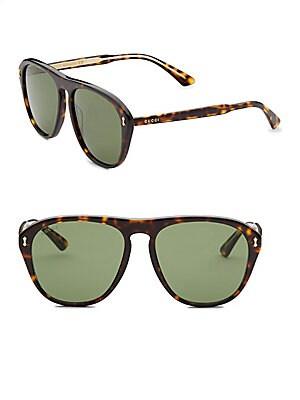a5defcdf6 Gucci - 56MM Square Sunglasses - saks.com