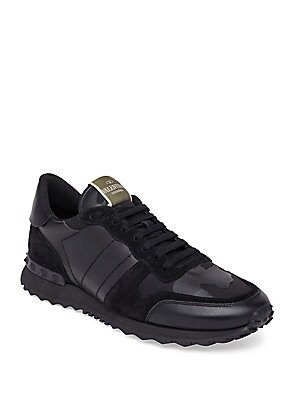 15197abbd18c5a Valentino Garavani - Camo Rock Runner Sneakers - saks.com