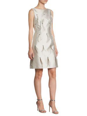 Silk Feather Dress