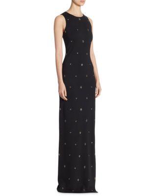 Shimmer Halter Gown