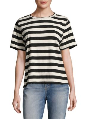 Striped Tomboy Shirt by AMO