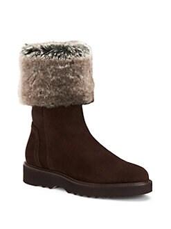 Aquatalia - Kelly Faux Fur Boots