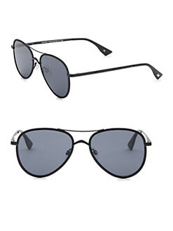 2fb35dc12 Product image. QUICK VIEW. Le Specs Luxe. 55MM Empire Aviator Sunglasses