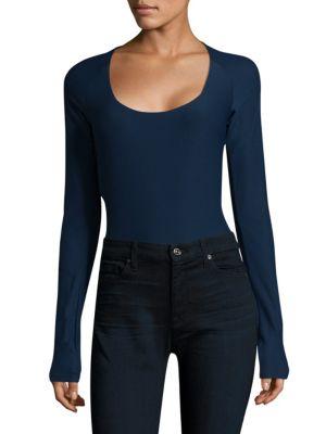 Sullivan Stretch Jersey Bodysuit by Alix