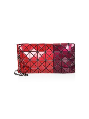 e01d388165 Bao Bao Issey Miyake Prism Metallic Chain Clutch In Red Bordeaux ...