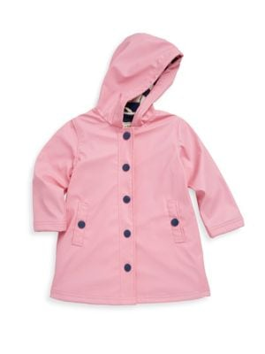 Little Girls  Girls Classic Splash Polyurethane Jacket