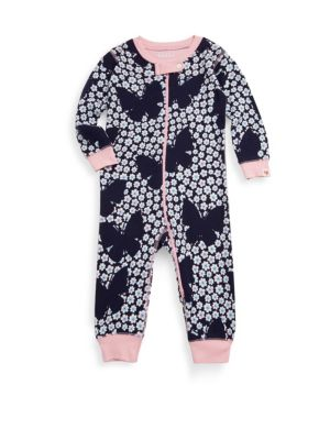 Babys Butterfly Cotton Coverall