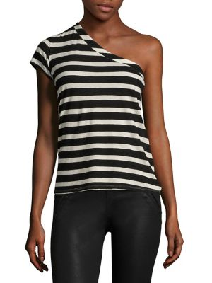 Anaisone One Shoulder Tee by RtA
