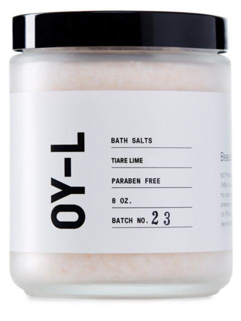 OY-L Tiare Lime Bath Salts   SaksFifthAvenue