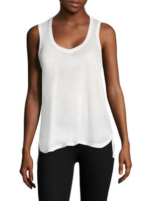 Jersey V-Neck Tank Top by ATM Anthony Thomas Melillo