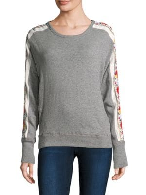 Wallflower Cotton Pullover by Free People