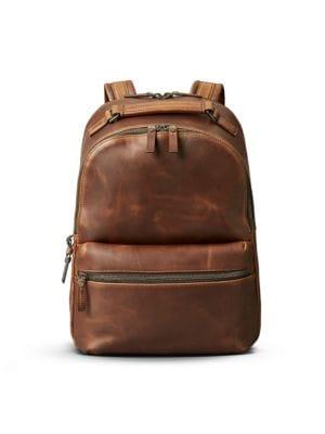 Shinola Runwell Leather Backpack - Brown In Medium Brown