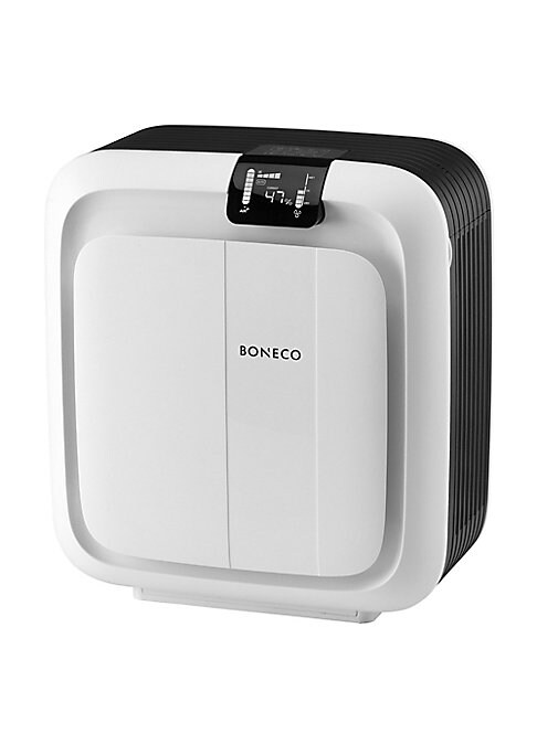 Image of Choice of operating as a Humidifier and/or Purifier. High humidification capacity up to 1076 sq ft. The Baby mode makes the H680 ideal for young families, filter and water change reminders. Cleaning mode for easy cleaning. Energy saving thanks to ultra-ef