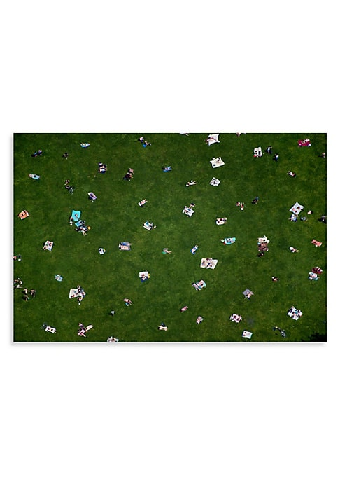 """Image of From the Au Parc series, this serene shot captures the carefree essence of a day at Central Park. From the Au Parc Series. Signed by artist.11.5"""" x 17"""".Printed on premium archival luster paper. Made in USA. Please note: Item is made to order and will ship"""