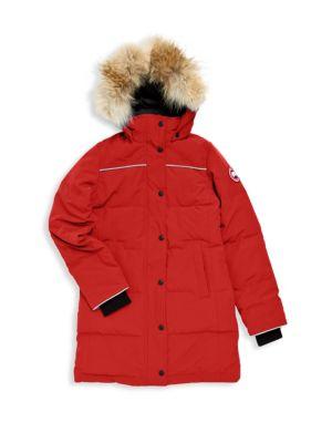 Canada Goose - Trillium Fur-Trimmed Down Parka - saks.com