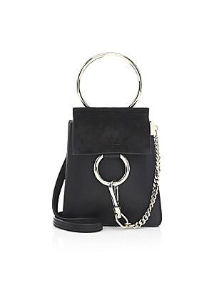 d0cabe3cc1ce Chloé - Mini Faye Leather Bracelet Bag - saks.com
