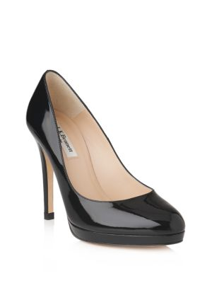 Sledge Leather Pumps by L.K. Bennett