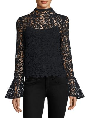 Cropped Lace Top by Airlie