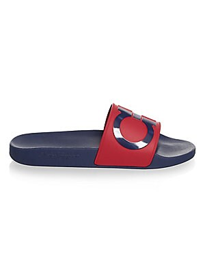 c176490e65a48 Salvatore Ferragamo - Gancini Pool Slide Sandals