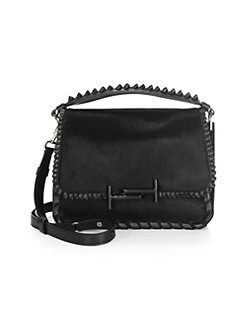 4b29d11a372 QUICK VIEW. Tod's. Studded Leather Messenger Bag
