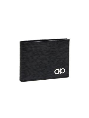 Revival Bi Fold Leather Wallet by Salvatore Ferragamo