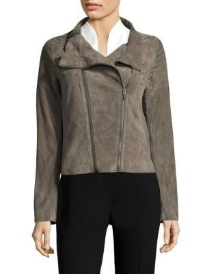 Melanie Suede Jacket, Chicory