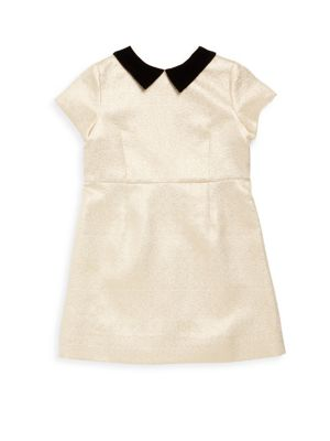 Toddlers Little Girls  Girls Metallic Dress