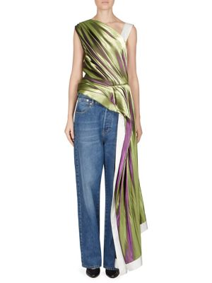 One Shoulder Top by Dries Van Noten