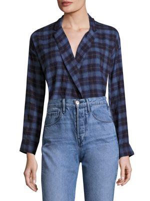Moxy Wrap Plaid Shirt by 3×1