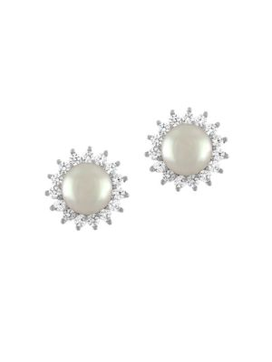 Majorica 8mm Pearl Stud Earrings
